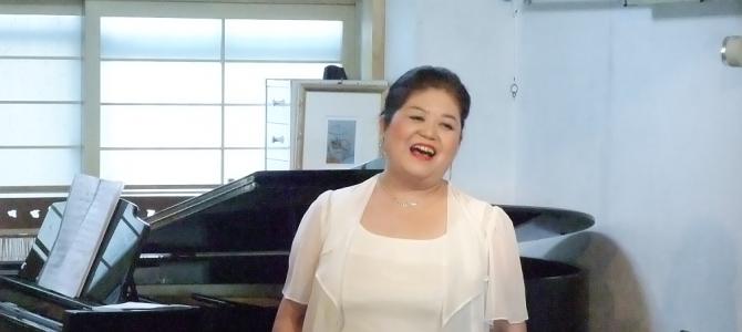 クリスマスコンサート村上美智子日本歌曲を歌う