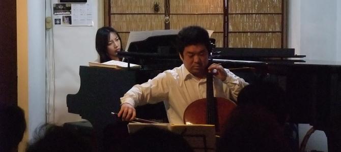 ニューイヤーコンサート佐藤智孝チェロの世界