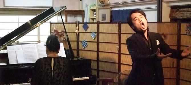 高柳圭イタリアを歌う