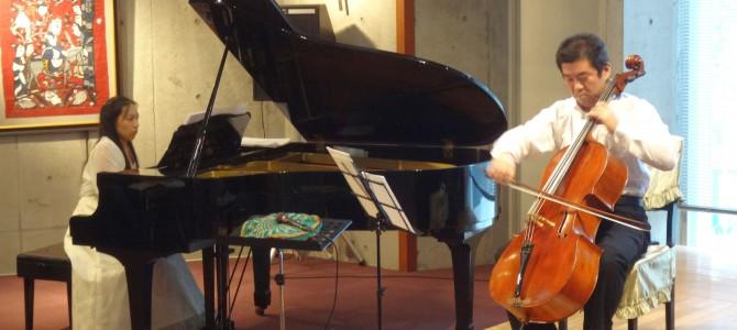 チェロとピアノの対話