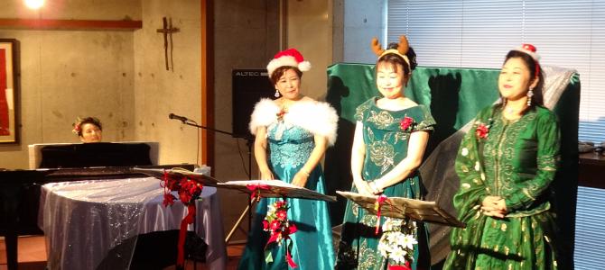 森潤子の世界とクリスマスの風景