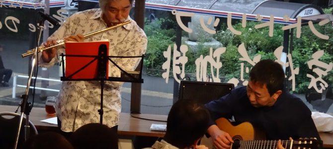 高尾倶楽部JAZZ LIVE《華岡将生&須古典明 音を描くvol.3》