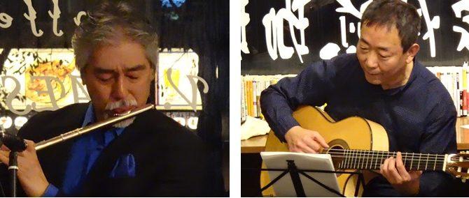 華あるジャズメン 音を描く 華岡将生&須古典明